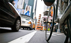 New York in Bici